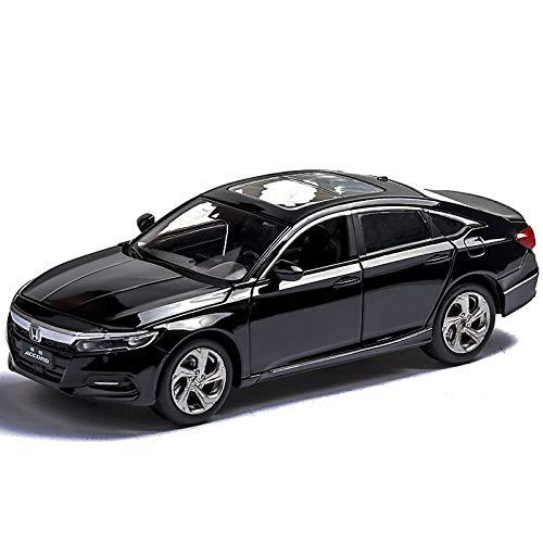 GUANGYING Honda Accord Modelo De Coche De Aleación De Simulación De Modelo De Coche De Sonido Y Luz Pull Back Car Coche Decoración 1:32
