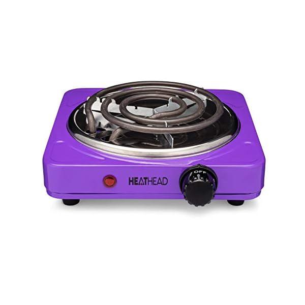 Single Coal Burner – Electric Burner – Portable Hot Plate – Countertop...