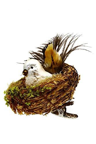 Hamburger Weihnachtskontor - Christbaumschmuck - Geschützt im Nest - Gefiederte Freunde