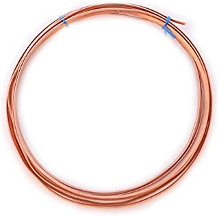 22 gauge half round dead soft copper wire