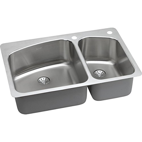 Tuscany® Acadian All-in-one Dual Mount 33 Stainless Steel 4-hole Single Bowl Kitchen Sink
