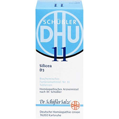 DHU Schüßler-Salz Nr. 11 Silicea D3 Tabletten, 80 St. Tabletten