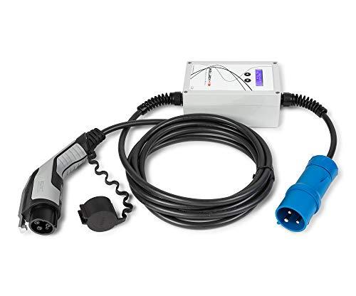 EV Portable WallboxOK Punto recarga coches eléctricos Tipo 1 (SAE J1772) CEE CETAC 16A 230V Monofásico