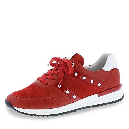 Remonte Halbschuhe in Übergrößen Rot R7023-33 große Damenschuhe, Größe:44