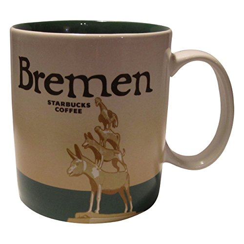 Starbucks City Mug Bremen Coffee Cup Icon Serie Germany