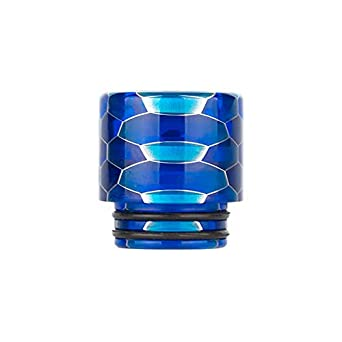 Lingketech Delrin 810 Connector drip Screws tip Adaptor Wide Bore Honeycomb Accessory -Blue USA Stock Arrive in 3-7 Days