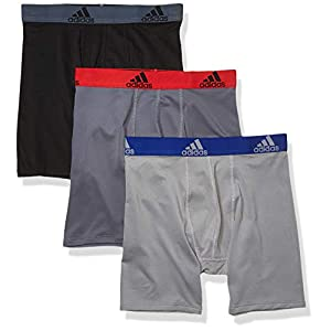41nUH8Fs3iL. SS300  - adidas Sport Performance Climalite Long Boxer Briefs (3-Pack) - Ropa Interior Niños