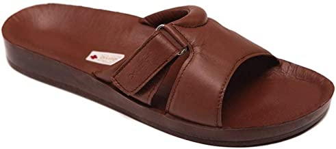 DrLuigi Medical Leather Slides Sandals for Women