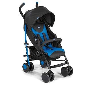Chicco Echo – Silla de paseo, ligera y compacta, soporta hasta 22kg, color azul (Mr Blue)