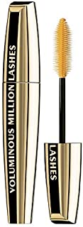 L'Oreal Voluminous Million Lashes Mascara, Blackest Black [635], 0.3 oz