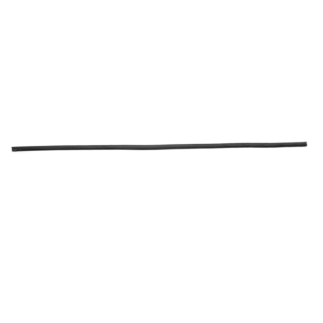 """7.8mm Width 28/"""" Windscreen Bracketless Wiper Blade Rubber Refill Strip for Car"""