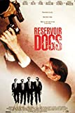 Reservoir Dogs - Onesheet - Filmposter Kino Movie Quentin