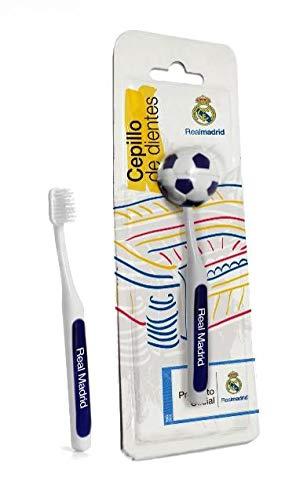 Real Madrid Cepillo de Dientes Adulto - 12 Paquetes de 1 Unidad