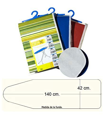 ORYX 5160020 Housse de Table à Repasser Muleton Mousse 140 X 42 cm