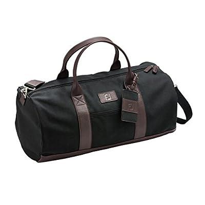 FootJoy Canvas Duffel Golf Bag (Black)