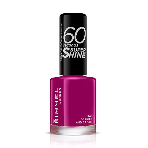 Rimmel London 60 Seconds Super Glanz Nagellack , Berries and cream, 8 ml