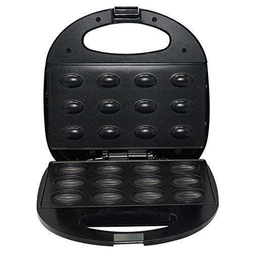 Máquina de desayuno de nuez eléctrica del hogar Máquina de desayuno sándwich Sandwich Hierro Tostadora Horneado Baneamiento Pan horno Oven UK Enchufe