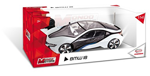 Mondo Motors 63266 - Radiocomandato BMW I8, Scala 1:14 [Colori assortiti]