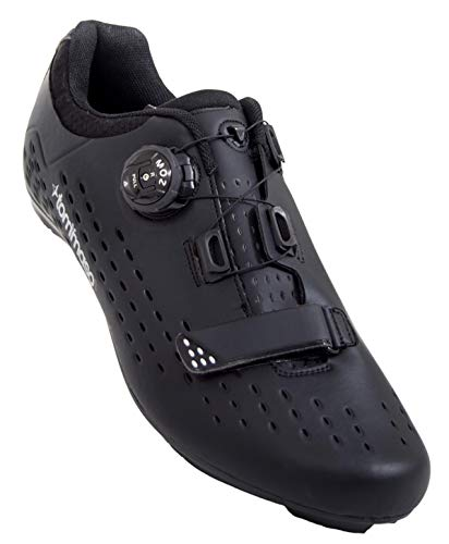 Tommaso Strada Elite - Quick Lace Style Road Bike Cycling Shoe - 46 Black