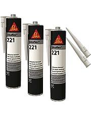 SikaFlex-221 weerbestendige hechtsterke afdichtstof, 300 ml