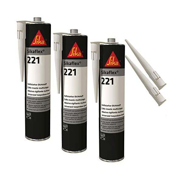 Sikaflex-221 – Sellador resistente a la intemperie (300 ml)