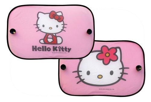 Hello Kitty 077362Juego de 2Side-Window Sun Shades Rectangular