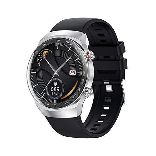 YDK AK26 Smart Watch Mascule Y Femenino Bluetooth Call MP3 Local Music Player HD Full Touch IP68 Impermeable Fitness Soporte Android iOS,E