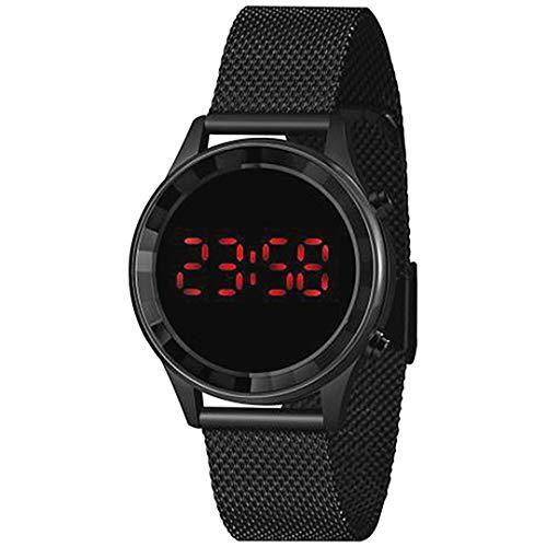 Relógio Lince Feminino Ref: Ldn4647l Pxpx Digital LED Black