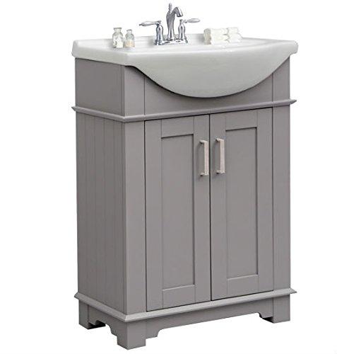 Legion Furniture WLF6042-G Bathroom vanity, 24', Gray