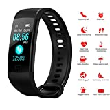 Fitness Tracker, Fitness Watch Activity Tracker with Heart Rate Monitor,Sleep Monitor,Step Counter,Calories,14 Sports Tracker, IP67 Waterproof, Slim Pedometer Watch for Men,Women and Kids
