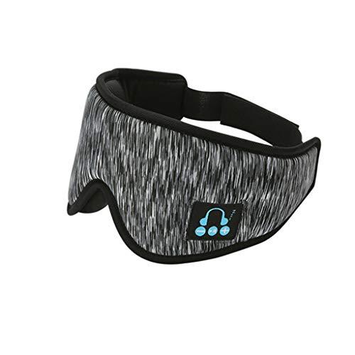 Fugift Bluetooth-Kopfhörer, kabellos, lindert Müdigkeit, Musik, Schlafen, Augen, beruhigende Geräuschreduzierung, Schlafhilfe, Brille, Büro, Reisen, cooles Zubehör, Camping, Wandern