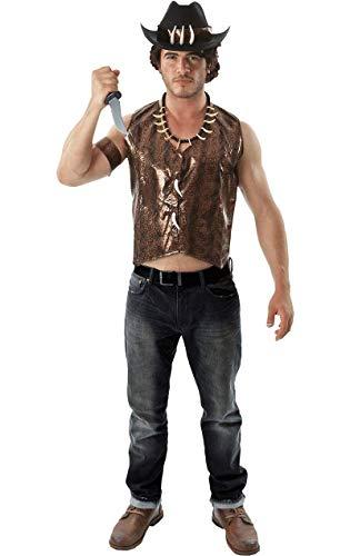 ORION COSTUMES Krokodiljäger Kostüm Australien Karneval Fasching Verkleidung Herren