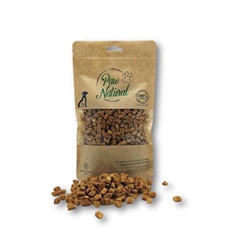 Paw Natural Premium Hundeleckerli aus 100% purem, frischem Fleisch, Gluten- & getreidefrei - 250g Hähnchen-Leckereien (Chicken)