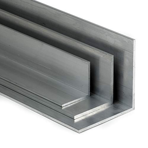 Aluminium Winkel AlMgSi05 gleichschenklig 20x20x1,5mm L:2000mm (200cm) Zuschnitt