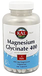 A SOURCE OF STRENGTH: Provides nutritive support for natural calmness and healthy muscle function CAREFULLY CRAFTED: Made right in our own facility, KAL Magnesium is chelated and highly bioavailable DIGESTION EASE: ActivTab technology provides tablet...