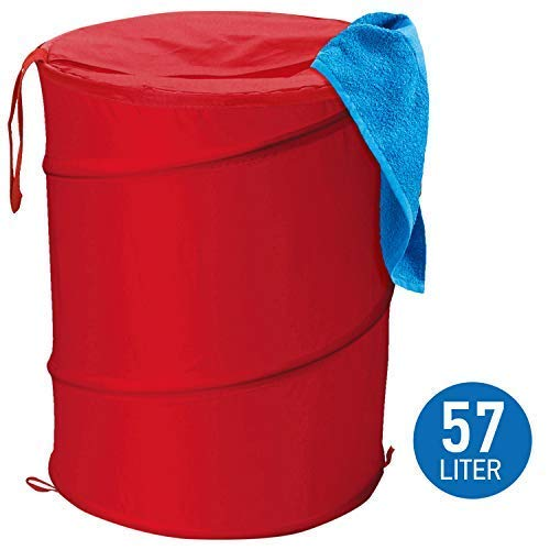 ArtMoon Peppy Pop-up Panier à Linge en Tissu Pliable, 57L , D37X52cm