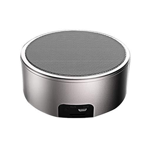 Bluetooth-luidspreker, eenvoudige Mini Super Bass HD Call enkele luidspreker computer telefoon aansluiting (Color : Goud)