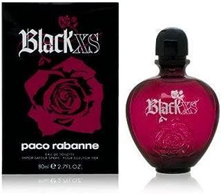 black xs eau de parfum 80ml