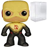 Bundled Plastic Box Protector with the collector in mind (Removable Film) Based on the CW's hit series The Flash, it's Reverse Flash! Thwarting Barry Allen's Flash at every turn, the Reverse Flash is shrouded in mystery. Stylized collectible stands 3...