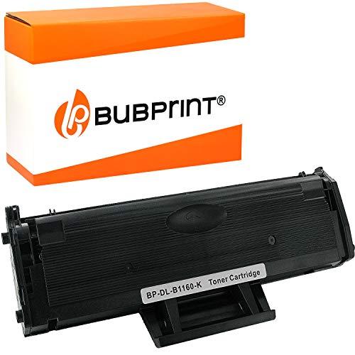 Bubprint Toner kompatibel für Dell 593-11108 für B1160 B1160W B1163W B1165NFW B1100 Series 1.500 Seiten Schwarz