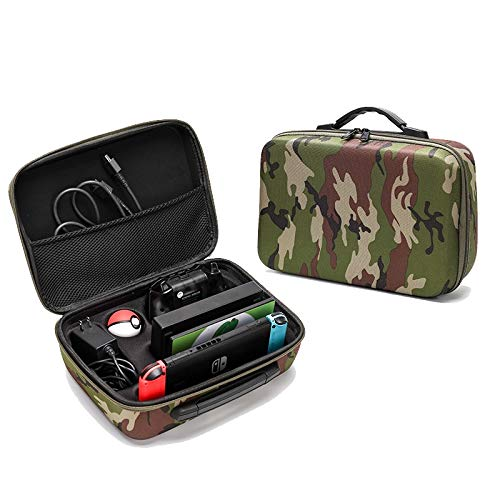 Jiangym Toys & Hobbies Portable EVA Storage Bag Suitcase Protective Box for Nintendo Switch (Camouflage) Toys & Hobbies (Color : Camouflage)