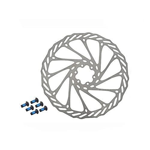 Kaxceay G3 MTB Discos de Bicicleta Rotor de Freno de Acero Inoxidable de 6 Pernos Discos 160 mm 180 mm 203mm Bicicleta de Carretera Disc-Freno para SM SRAM Pieza Disco (Color : 1 PC 180MM)