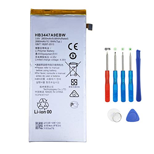 La batteria swark Huawei hb3447a9ebw P8 L09 ul00 gra gra Gra ul10 e strumenti