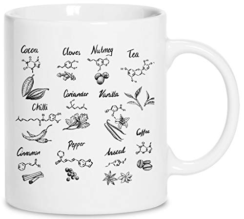 Das Chemie Von Essen Keramik Weiß Tassen Kaffeebecher Cup Mug