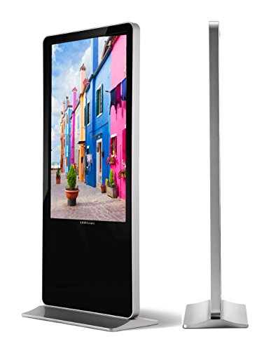 LEDscopic Digital Kiosk Signage Player by USB - Display Screen for Advertising Restaurant, Coffee Shop, Hotel, Airport (55in)