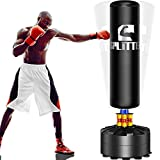 Xsport Pro Freestanding Punching Bag 70''-182lb Heavy Bag with Suction Base for Adult Youth,Men Free Stand Punch,Kickboxing Bags,Standing Heavy Punching Bag for Home Office