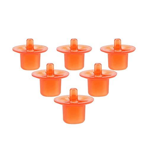 Garosa 50pcs Reine Cellule d'élevage Tasses d'apiculture en Plastique de Haute qualité équipement Outil Pratique à Utiliser Ensemble de cuvettes d'élevage de Reines Tasse de cellules(Rouge)