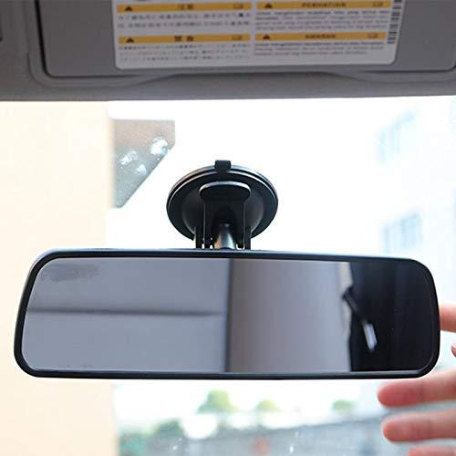 NYSCJJJ Rückspiegel Universal-Weitwinkel Rückspiegel mit Sauganlage Auto-Innenspiegel Rückspiegel (Color Name : Black)