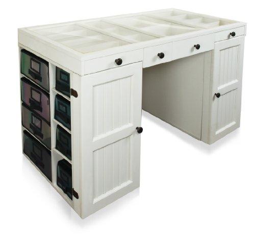 Big Sale Best Cheap Deals Scrapbox EZ View Craft Desk White