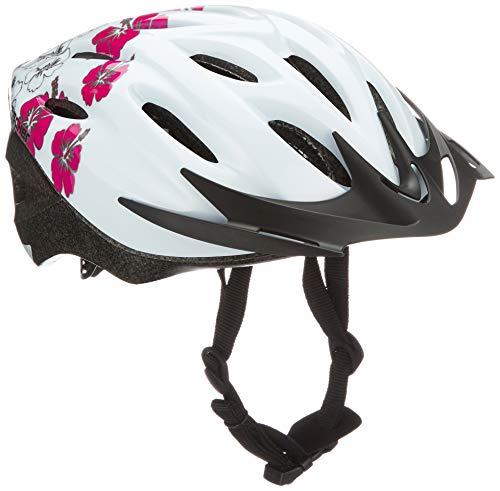 FISCHER Erwachsene Fahrradhelm, Radhelm, Cityhelm, Weiß rosa, S/M